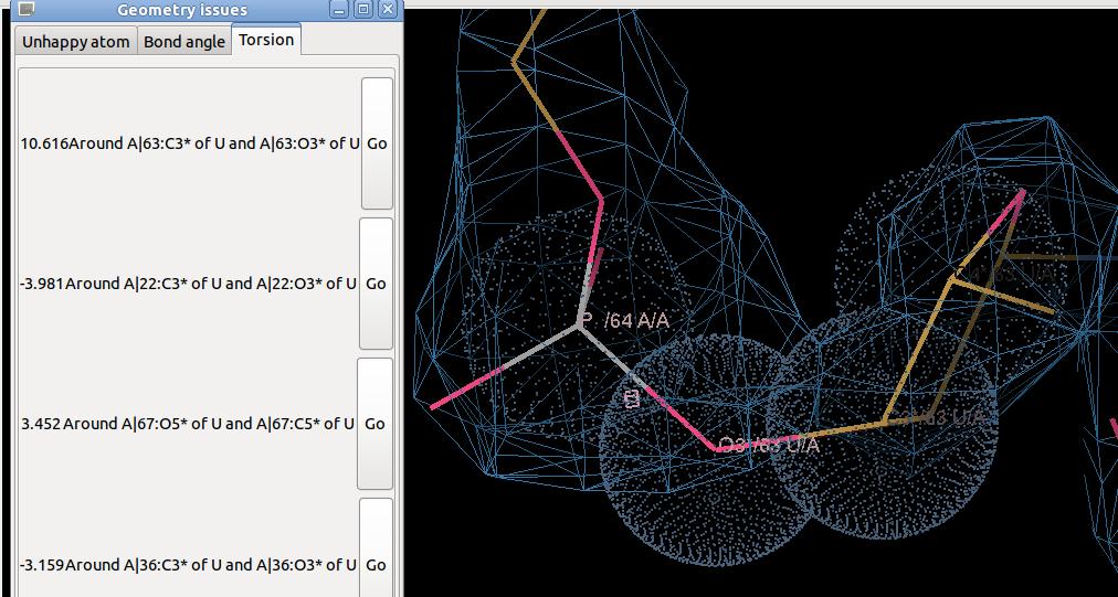 O3 Bond Angle: RNApuckerRestraints